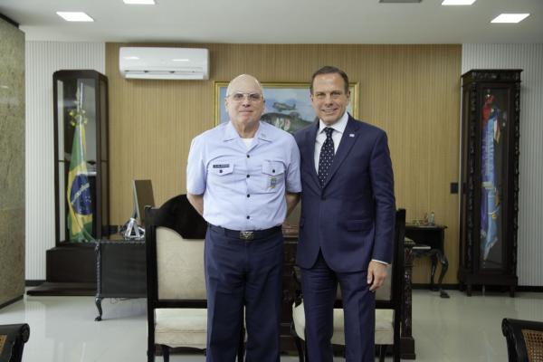 Encontro foi realizado nesta terça-feira no Gabinete do Comando da Aeronáutica em Brasília