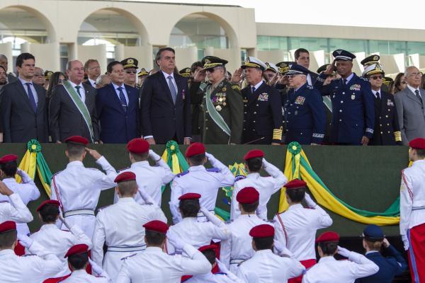 A solenidade aconteceu no Quartel-General do Exército, em Brasília (DF)