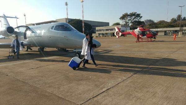 O órgão foi transportado de Joinville (SC) para Brasília (DF)