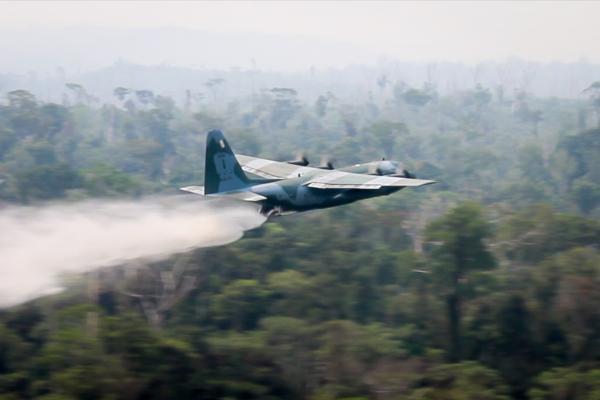 Aeronaves estão operando a partir de Porto Velho (RO)