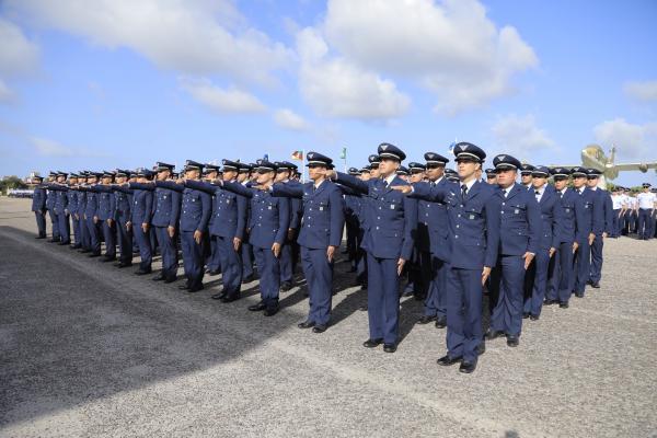 Cerimônia foi presidida pelo Comandante da Aeronáutica, Tenente-Brigadeiro Bermudez