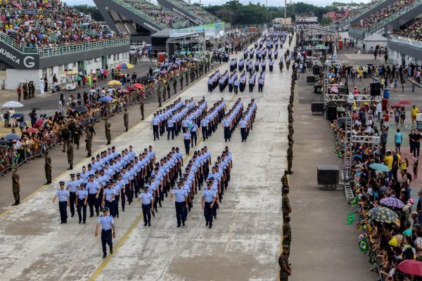 Confira como foi a participação do efetivo da Força Aérea Brasileira nas diversas cidades