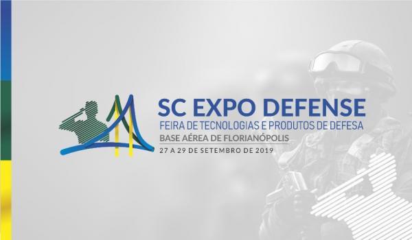 A SC Expo Defense – Feira de Tecnologia e Produtos de Defesa será realizada em Florianópolis (SC)