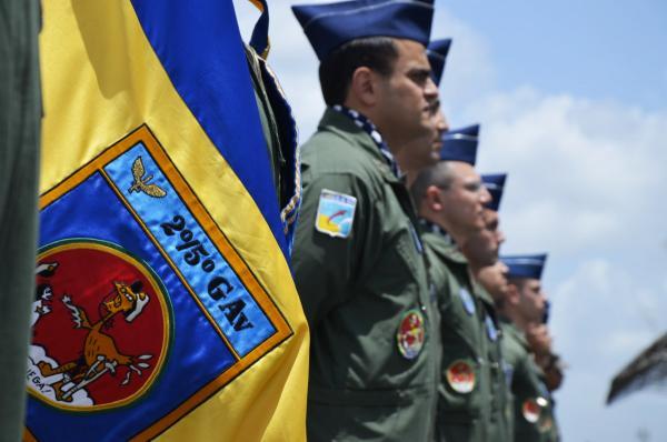 Durante a cerimônia, foram realizadas diversas homenagens à Unidade que executa a especialização dos pilotos de caça da FAB