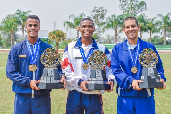 A competição reuniu cerca de 500 atletas das três Forças Armadas