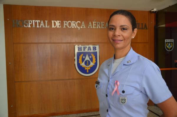 Conheça a história de superação da oficial da FAB que  diagnosticou a doença precocemente