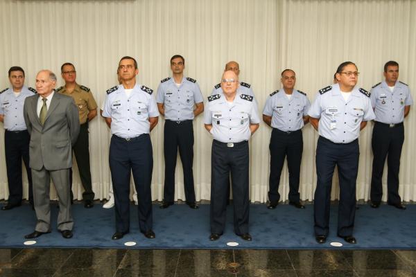 Cerimônia foi presidida pelo Comandante da Aeronáutica, Tenente-Brigadeiro Bermudez, e homenageou militares do efetivo