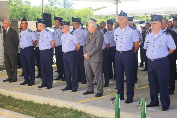 Evento aconteceu nesta quinta-feira (03/10), com a presença do Comandante da Aeronáutica