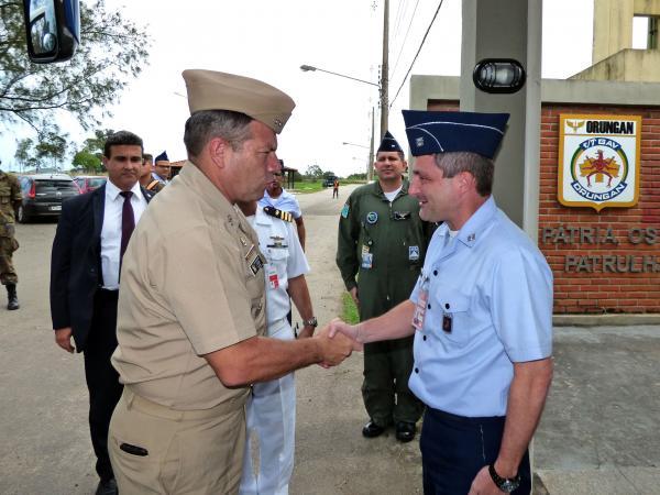 Objetivo foi viabilizar a prática Geoestratégica Internacional da Escola Superior de Guerra da República da Colômbia como parte das atividades acadêmicas