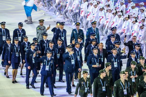 Os atletas atingiram o indicador de 47% do total de medalhas brasileiras, batendo a meta estipulada pela Comissão Desportiva Militar do Brasil