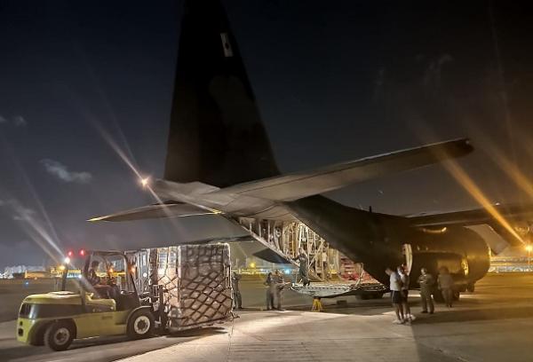 A chamada Operação Amazônia Azul envolve transporte de material em aeronaves da FAB, além do monitoramento marítimo