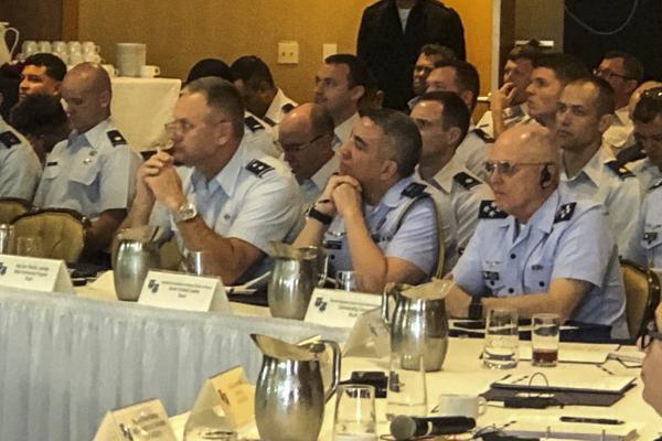 O evento, realizado nos Estados Unidos, reúne militares das Forças Aéreas Sul-Americanas e da 12º Força Aérea (Air Force Southern)