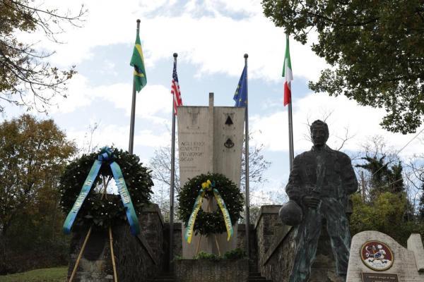 Prefeita da cidade de Pianoro na Itália, Franca Filippini, destacou o sacrifício do Tenente Cordeiro e do Brasil durante o conflito