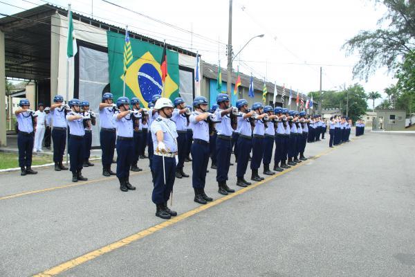 Durante a cerimônia ocorreu também a passagem de Direção do Parque de Material Bélico de Aeronáutica do Rio de Janeiro
