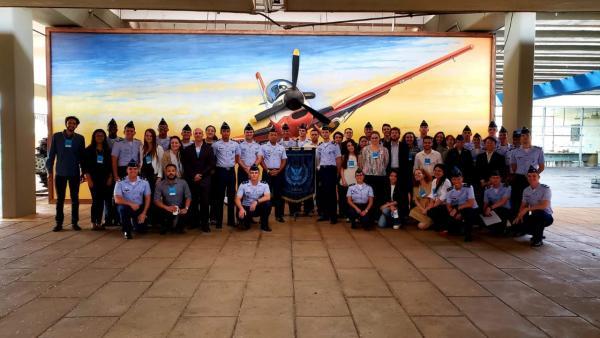 Evento reuniu cadetes da AFA, alunos da EPCAR e estudantes de Relações Internacionais e de Direito