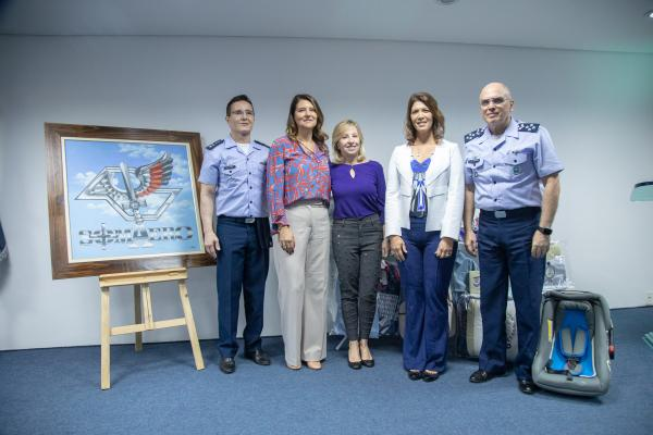 Sociedade dos Melhores Amigos da Aeronáutica realizou entrega de doações ao HFASP