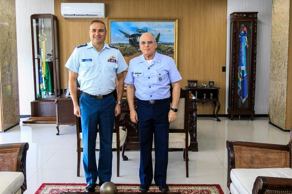 Encontro ocorreu na nesta quarta-feira (20), no Comando da Aeronáutica, em Brasília (DF)