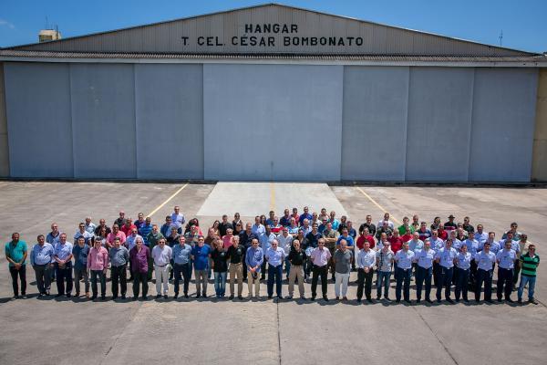 Encontro no Rio de Janeiro (RJ) reuniu ex-integrantes do Esquadrão Adelphi (1º/16º GAV)