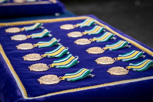 Durante cerimônia foi imposta a Medalha Mérito Estado-Maior Conjunto das Forças Armadas