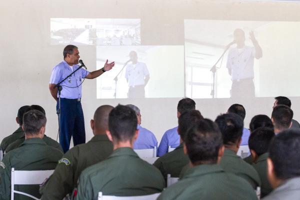 Na Ala 3, Tenente-Brigadeiro Egito esteve presente na Análise Durante Ação (ADA) do Exercício