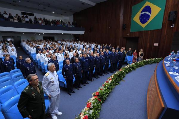 A solenidade foi realizada nesta sexta-feira (06), na Universidade da Força Aérea, no Rio de Janeiro (RJ)