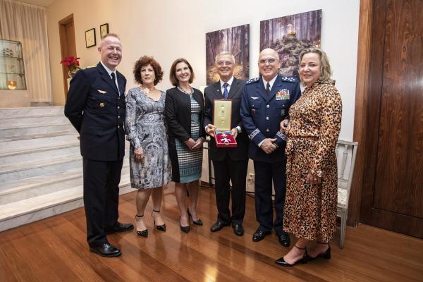 No evento, o ex-Comandante, Tenente-Brigadeiro do Ar Nivaldo Luiz Rossato, foi condecorado com a Ordem da Estrela do Norte