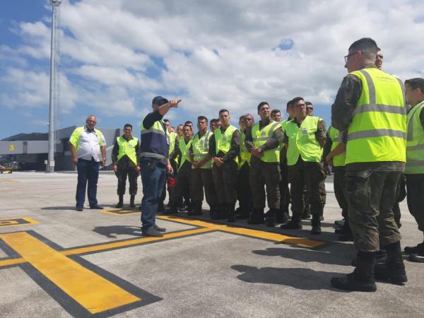 Atividade foi desenvolvida para atender as necessidades imediatas da administradora do aeroporto de Florianópolis