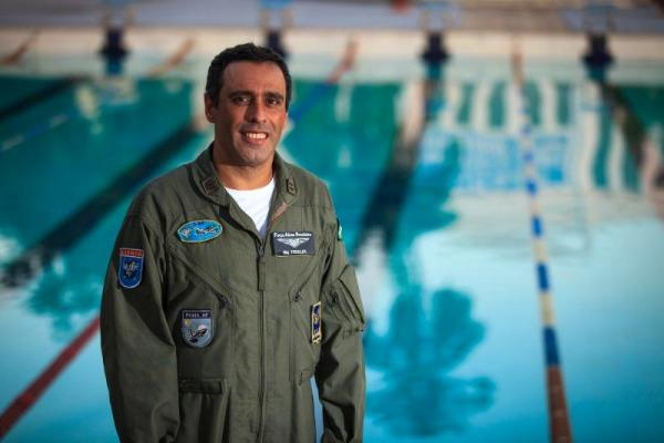 Tenente-Coronel foi indicado ao prêmio pela Associação Mundial de Águas Abertas (WOWSA)