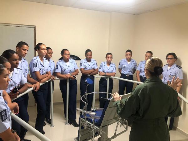A organização é responsável pelo ensino, pesquisa, aperfeiçoamento, treinamento e instrução nos campos da Medicina Aeroespacial e da Saúde Operacional
