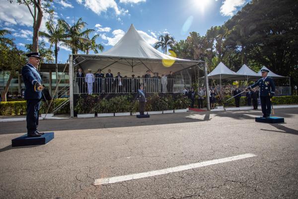 Major-Brigadeiro do Ar Hudson Costa Potiguara assume a Diretoria-Geral em substituição ao Tenente-Brigadeiro do Ar Luiz Fernando de Aguiar