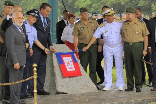 Presidente da República e Comandante da Aeronáutica marcaram presença na solenidade que ocorreu segunda-feira (3)