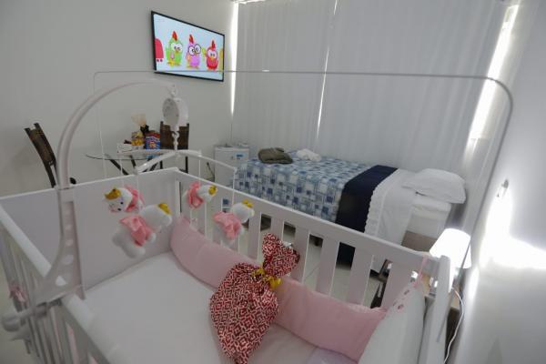 O objetivo é criar um ambiente agradável para adultos e crianças que chegarão da China