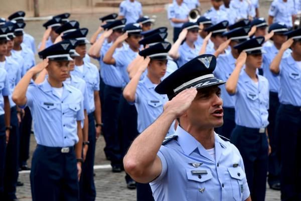 Solenidade de conclusão do Estágio de Adaptação Militar foi realizada na sexta-feira (07/02) na Escola Preparatória de Cadetes do Ar