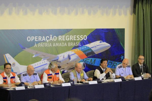 Ala 2 - Base Aérea de Anápolis (GO) acomodará os repatriados provenientes de Wuhan, na China, epicentro do coronavírus