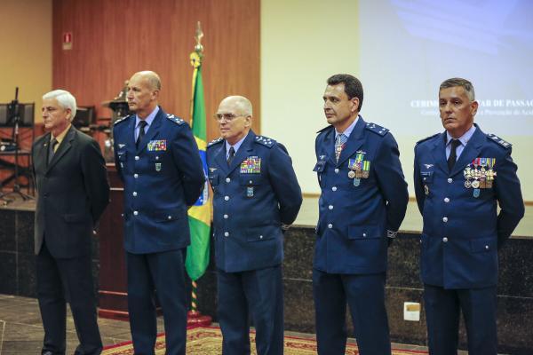 O Coronel Aviador Adolfo Aleixo da Silva Júnior assumiu a chefia do CENIPA nesta quinta-feira (13), em Brasília (DF)