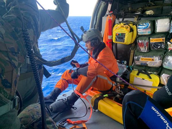 A Missão foi cumprida por uma tripulação do Esquadrão Pantera (5°/8° GAV)