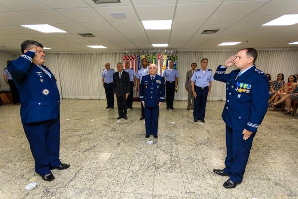 O Major-Brigadeiro Mrad assumiu a Direção da DIRENS nessa segunda-feira (17), em Brasília (DF)