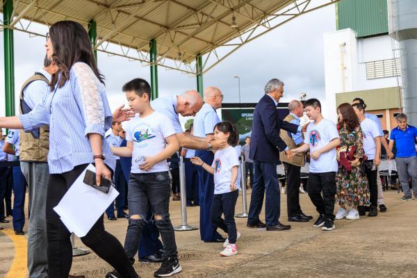 Repatriados retornam ao seio de suas famílias, nas diversas regiões do país