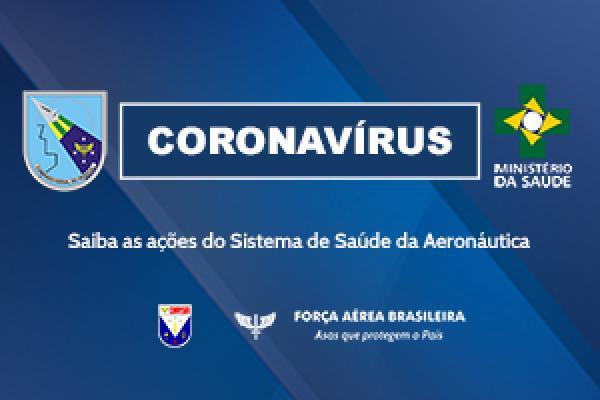 Diretoria de Saúde da Aeronáutica acompanha a evolução da COVID-19