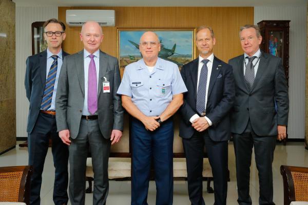 Encontro ocorreu na tarde desta quarta-feira (11), no Comando da Aeronáutica, em Brasília (DF)