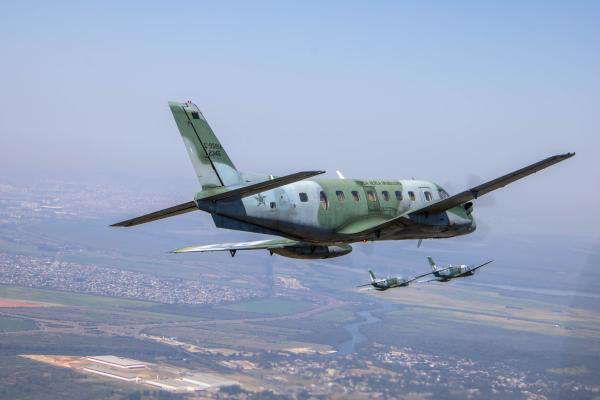 Exercício da Aviação de Transporte ocorre em Canoas (RS) e conta com a participação de quatro Esquadrões Aéreos