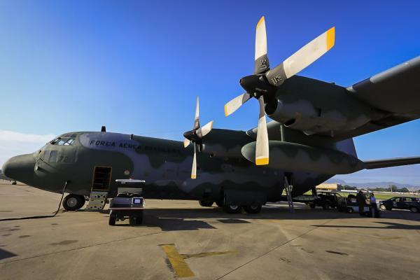 Aeronaves C-130 Hércules decolaram do Rio de Janeiro (RJ) e de Belém (PA) com equipe de saúde especializada e materiais embarcados