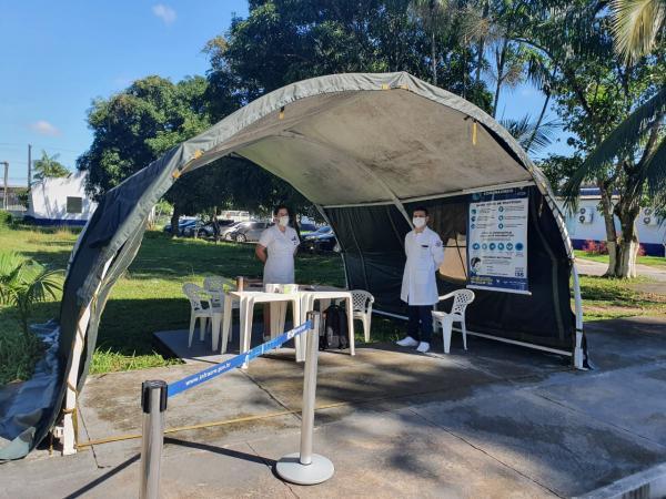Hospital de Aeronáutica de Belém organiza setor especial para atender casos suspeitos de COVID-19
