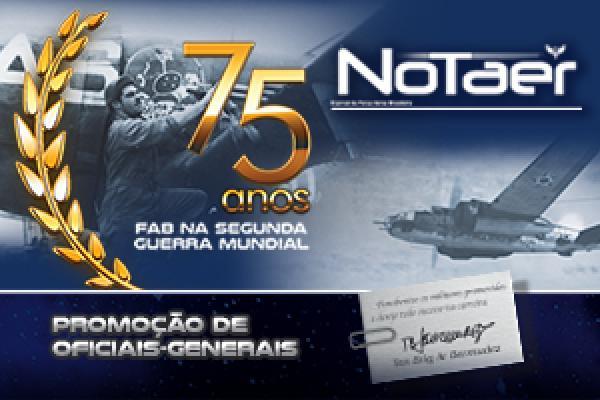 Jornal traz também um encarte especial sobre a promoçãode 23 Oficiais-Generais