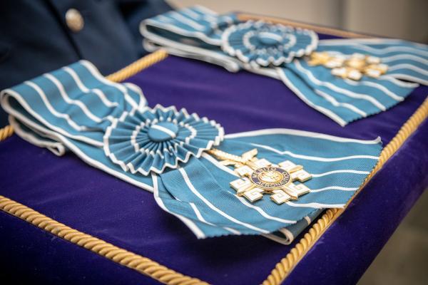 Tenente-Brigadeiro Heraldo e Tenente-Brigadeiro Fiorentini receberam a Comenda no grau Grã-Cruz