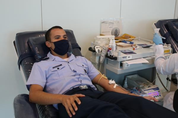 A iniciativa foi organizada pelo Comando do CIAAR e faz parte das ações para a prevenção e o enfrentamento ao Coronavírus