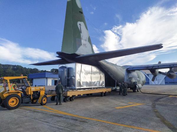 Os aparelhos serão utilizados no Hospital de Campanha que está montado na capital de Roraima
