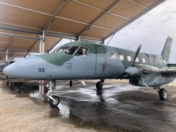 Os integrantes da Marinha do Brasil irão compor o efetivo do 1º Esquadrão de Aviões de Transporte da Marinha do Brasil (EsqdVE-1)
