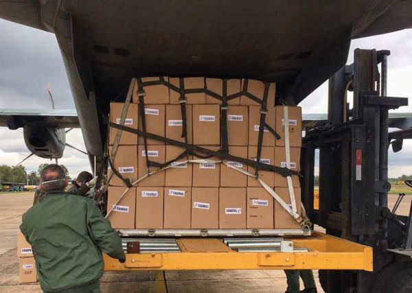 C-105 Amazonas realizou Transporte Aéreo Logístico de máscaras de proteção para Maceió (AL), Macapá (AP) e Boa Vista (RR)