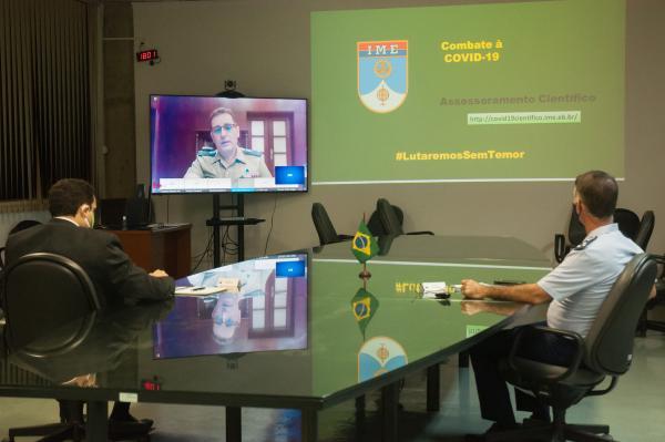 Encontro online debateu formas de interação e cooperação para o desenvolvimento de tecnologias inovadoras à Defesa, com aplicabilidade no meio militar e civil